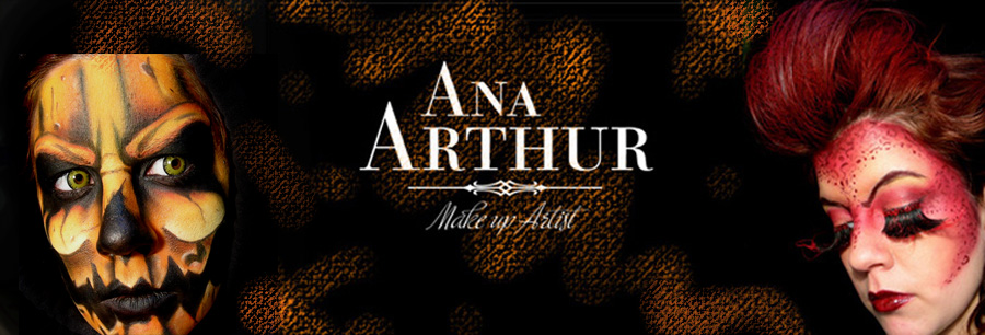 ana arthur make-up artist