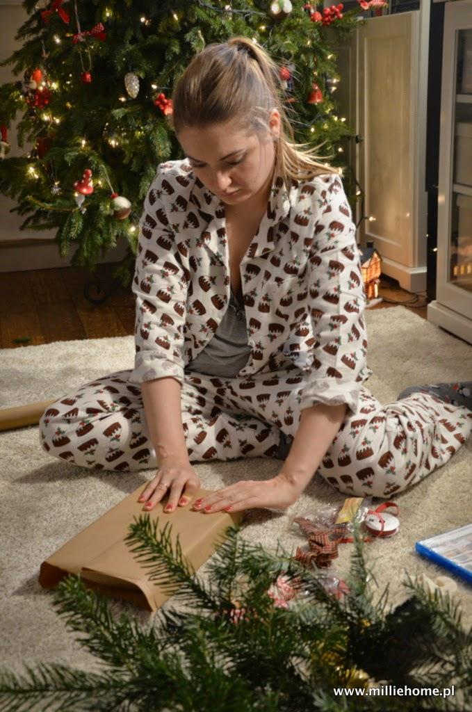 DIY pakowanie prezentów świątecznych
