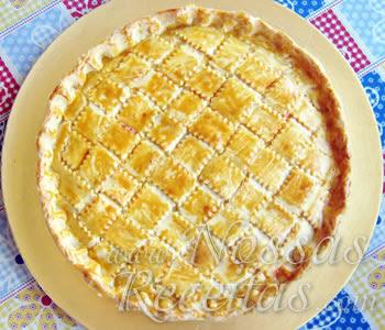 receita de torta ou empadão de frango