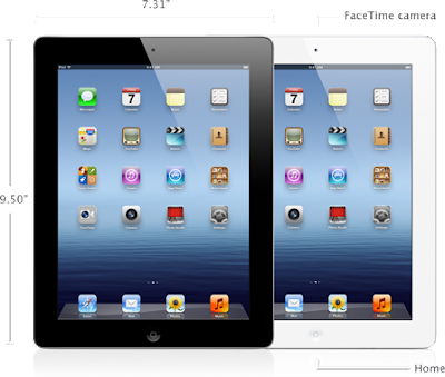 The new iPad Front Image