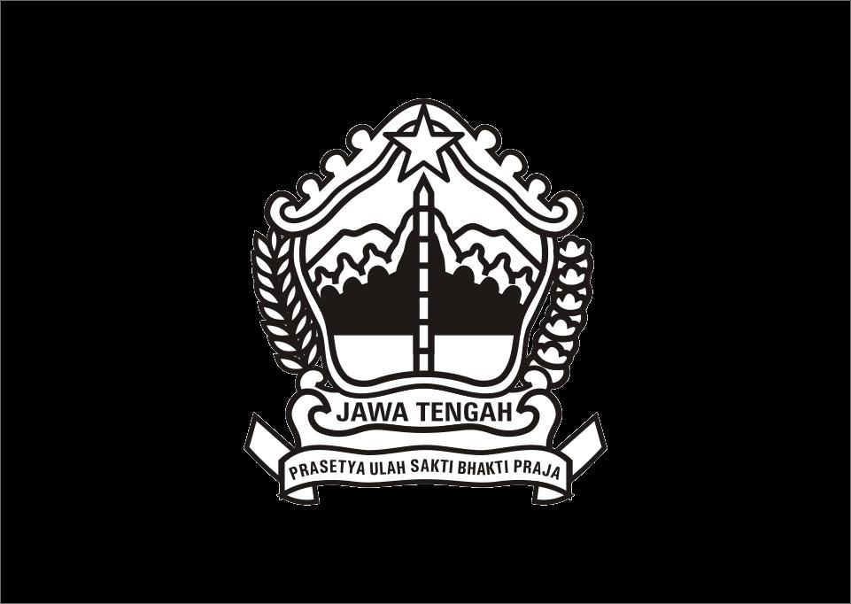 Download Logo Jawa Tengah hitam putih Vector
