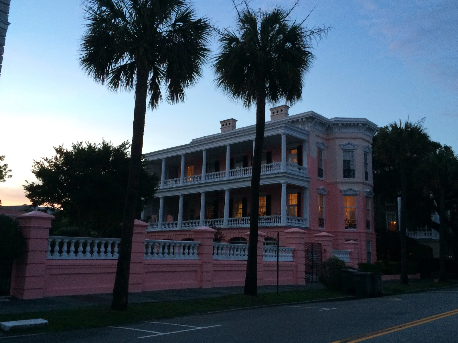 WHITE HOUSE RED ROOF Folly Beach Charleston Day 1