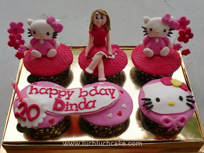 Hello Kitty Cupcake Pink