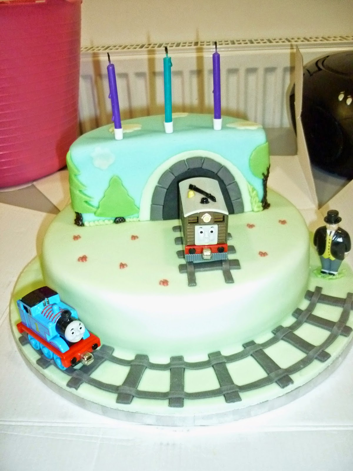 All Sewn Up By Stacey Thomas The Tank Engine Birthday Cake And The