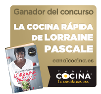 Ganadora del concurso Canal Cocina