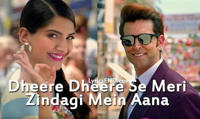 Dheere Dheere Se Lyrics - Honey Singh
