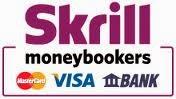 Вывод денег через Skrill на карточку VISA, Mastercard или на счет в банке.