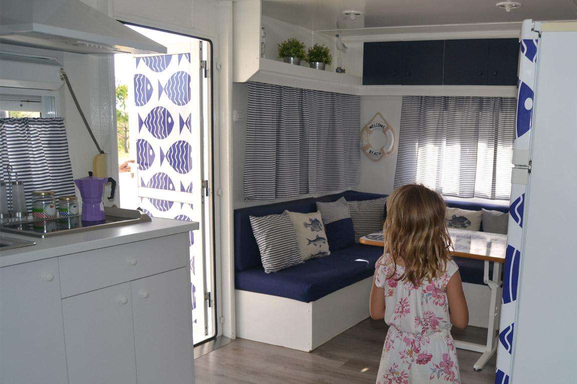 C mping amb nens - Interiores de caravanas ...