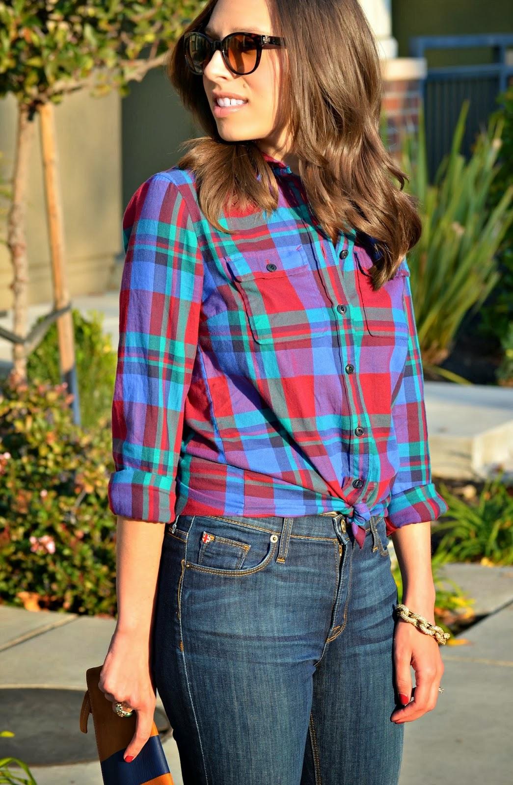 Dress up your Jcrew flannel