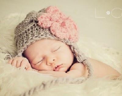 Photo de bébé qui dort pour facebook