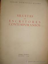 SILUETAS DE ESCRITORES CONTEMPORÁNEOS