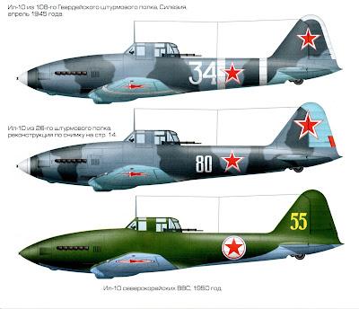 Окраска Ил-10