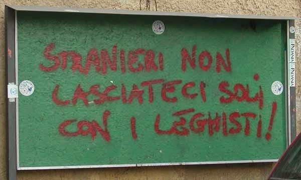 Salvini a Roma. Potessi...