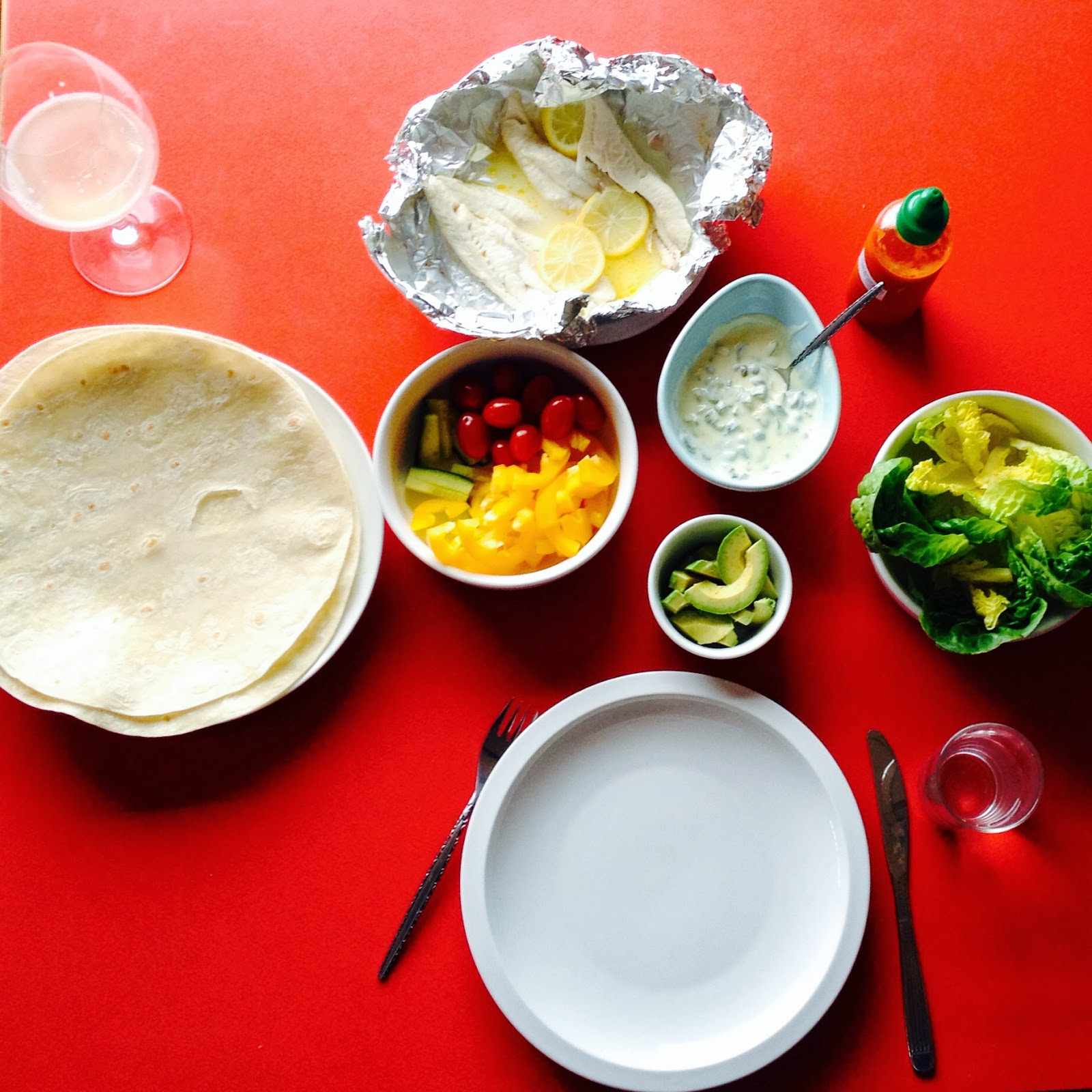 Fish And Flatbreads Or Wraps Photo Credit Lucy Corry