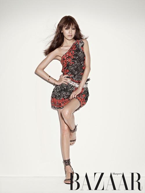 Sooyoung SNSD Harper's BAZAAR 01