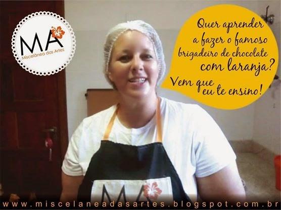 Aprenda a fazer o Brigadeiro de Chocolate com Laranja