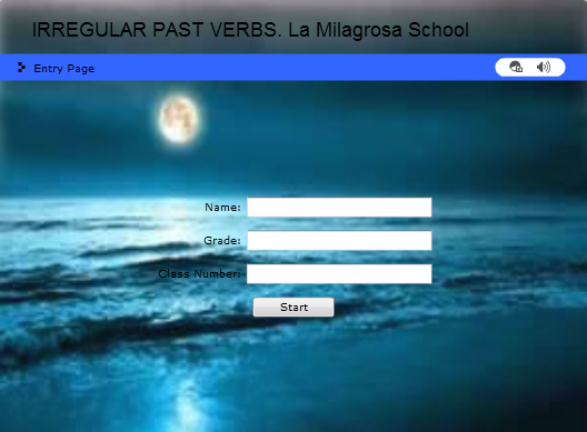 Irregular past verbs in english