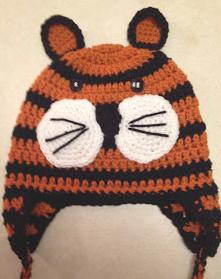 Amys Crochet Creative Creations: Crochet Child Tiger Ear ...