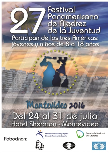 PANAMERICANO DE LA JUVENTUD MONTEVIDEO URUGUAY 2016