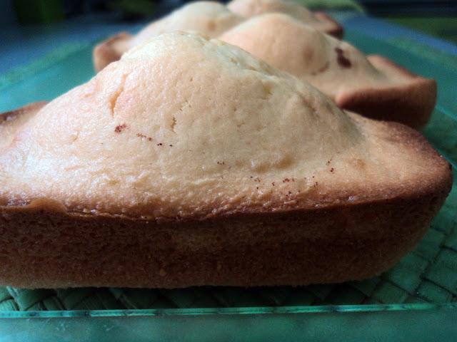 Magdalenas de nata y canela receta