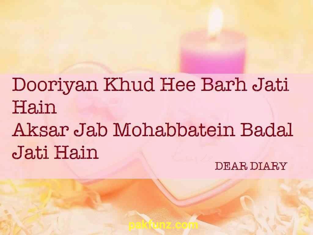 dear diary se beautiful love quotes shayari and images