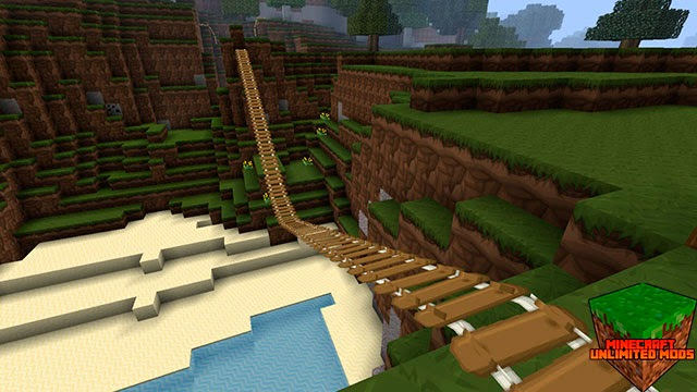 Sphax PureBDcraft Texture Pack railes