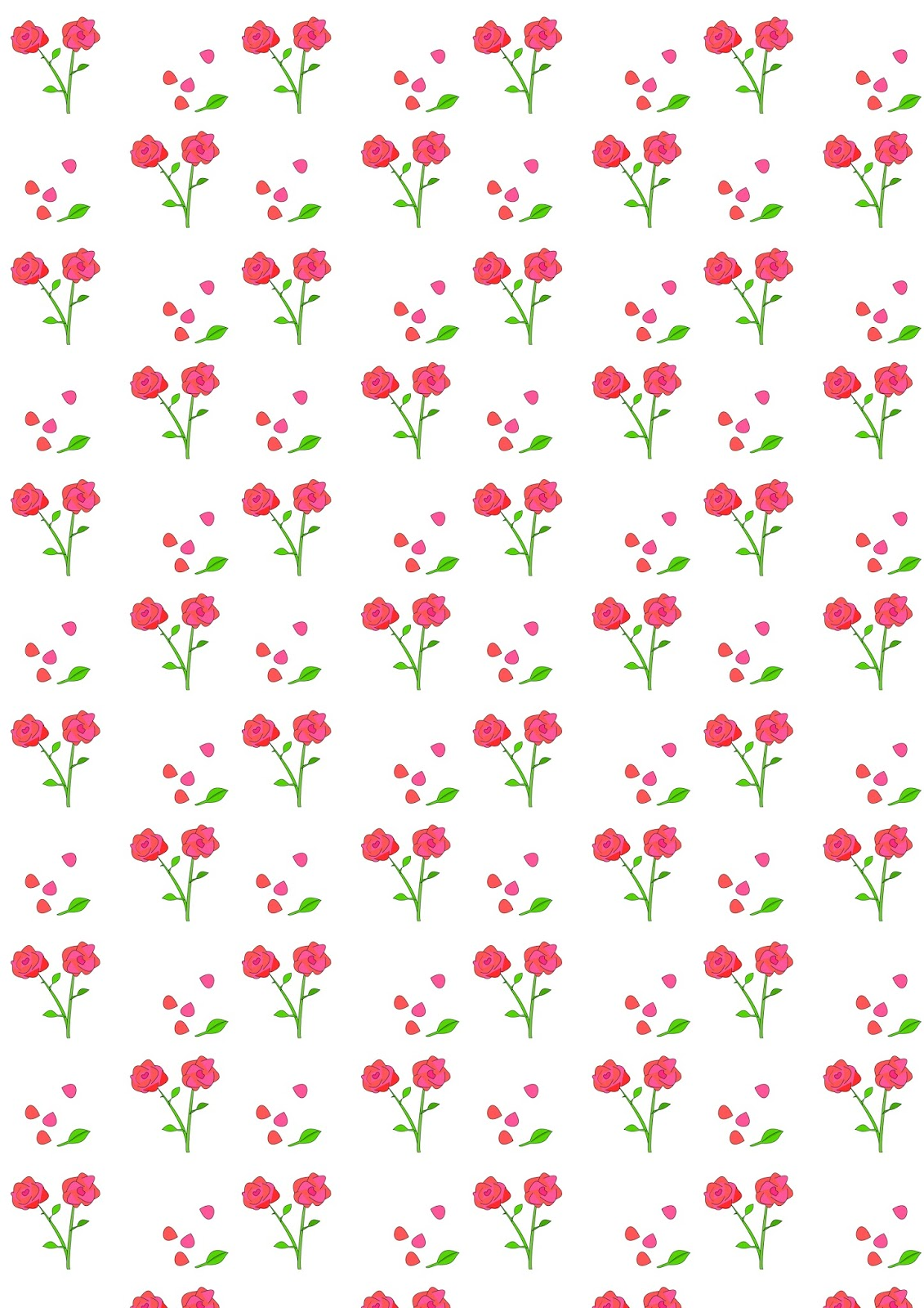Eloquent image in printable pattern paper