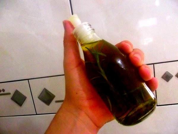 Receita de azeite de ervas