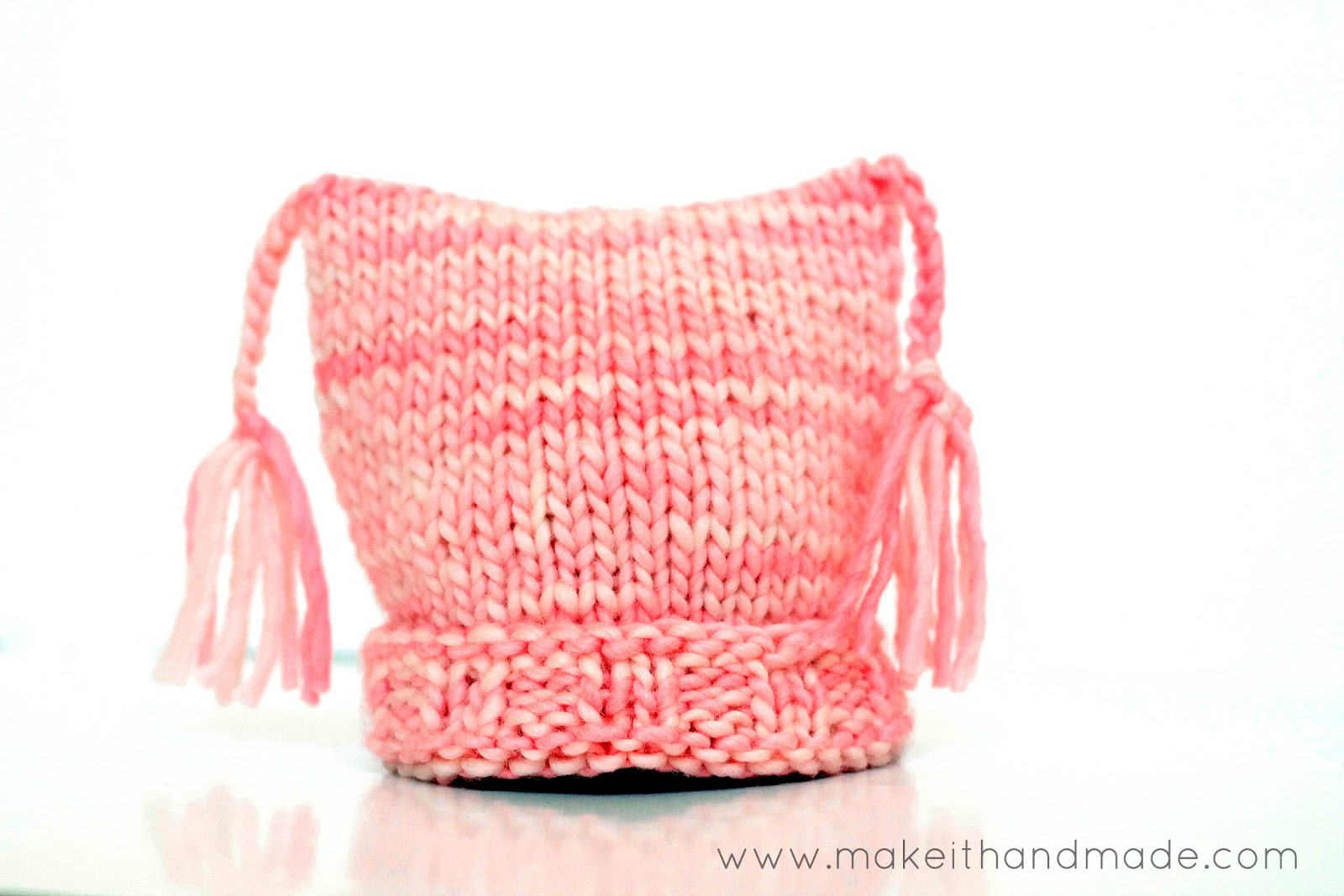Make It Handmade: The Pixy Newborn Hat -- Free Pattern!
