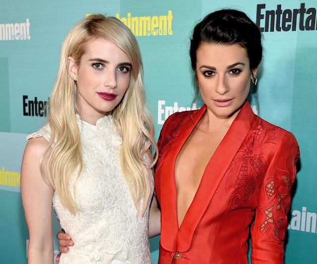 Emma Roberts y Lea Michele volverán en la segunda temporada de 'Scream Queens'