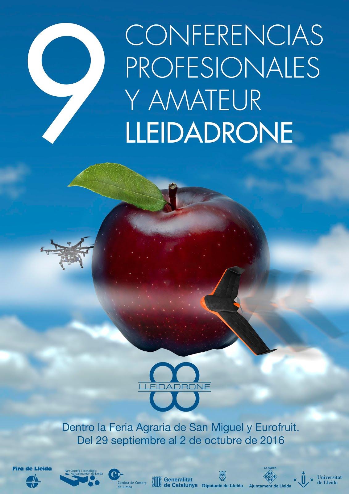 Fué: 9 Conferencias LleidaDrone