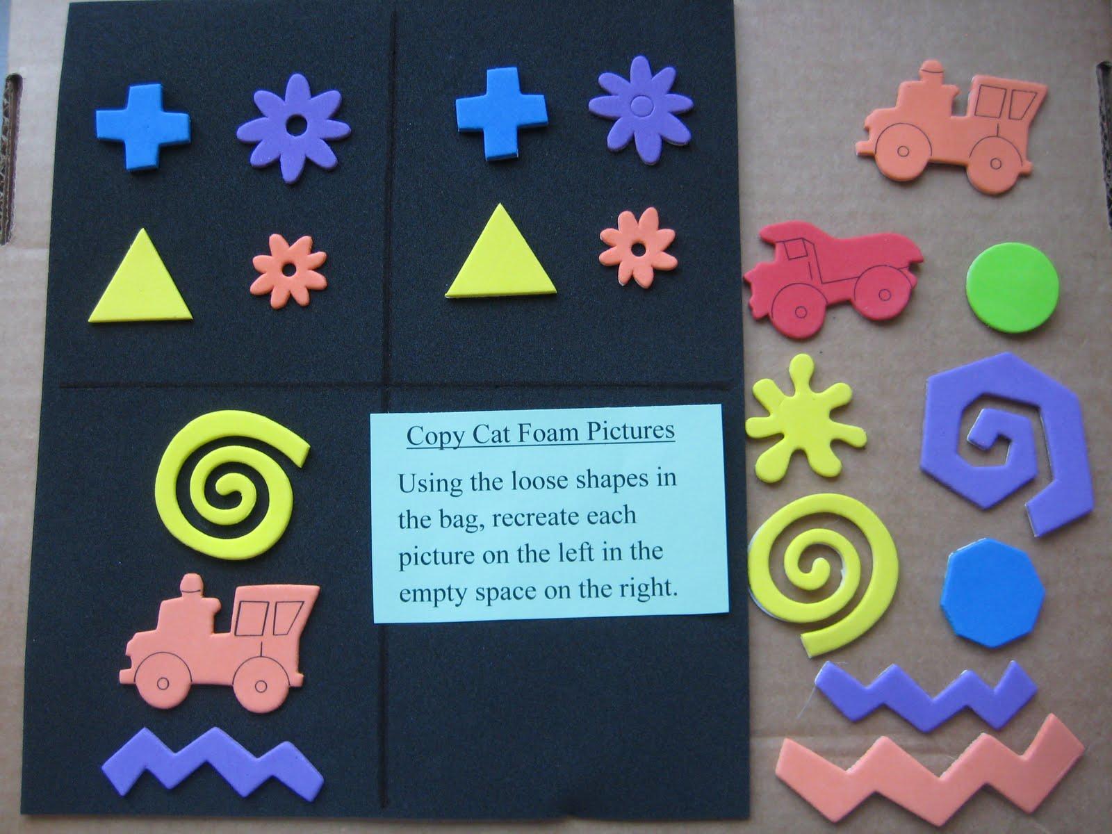 snake puzzle shapes instructions