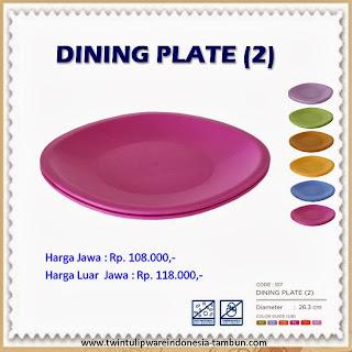 Dining Plate Tulipware 2013