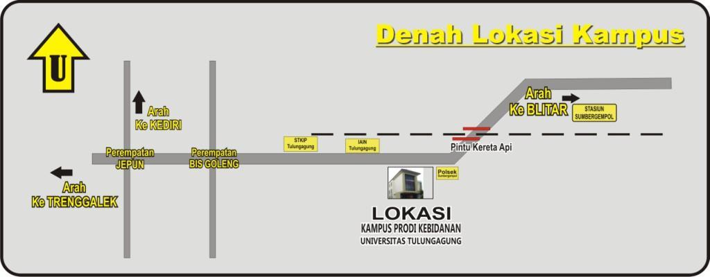 DENAH KAMPUS