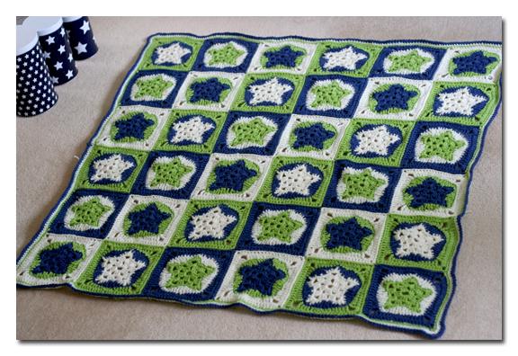 Frills Spills Star Baby Blanket