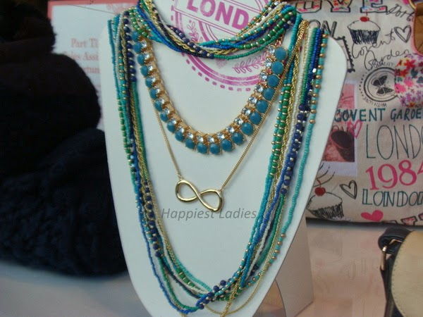 accessorize layered necklace