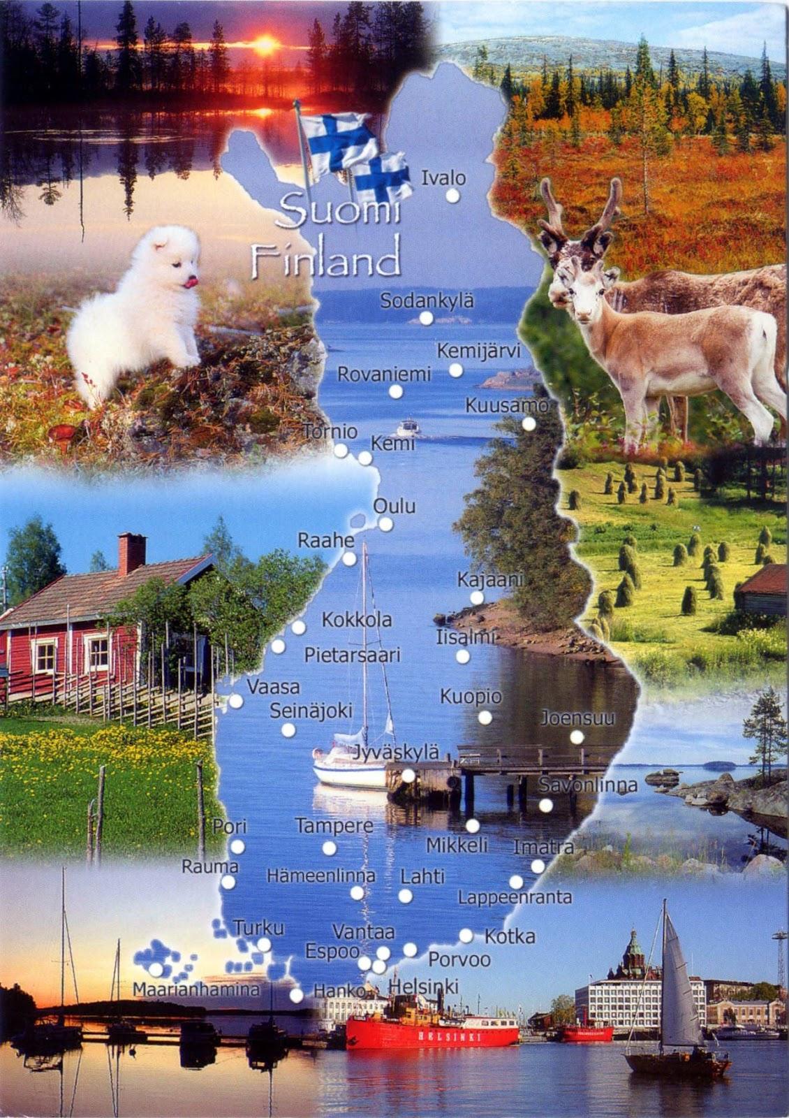 Petites fenêtres sur le Monde: Finlande et Laponie