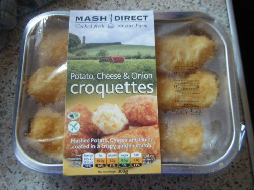 Potato Cheese & Onion Croquettes from Mash Direct