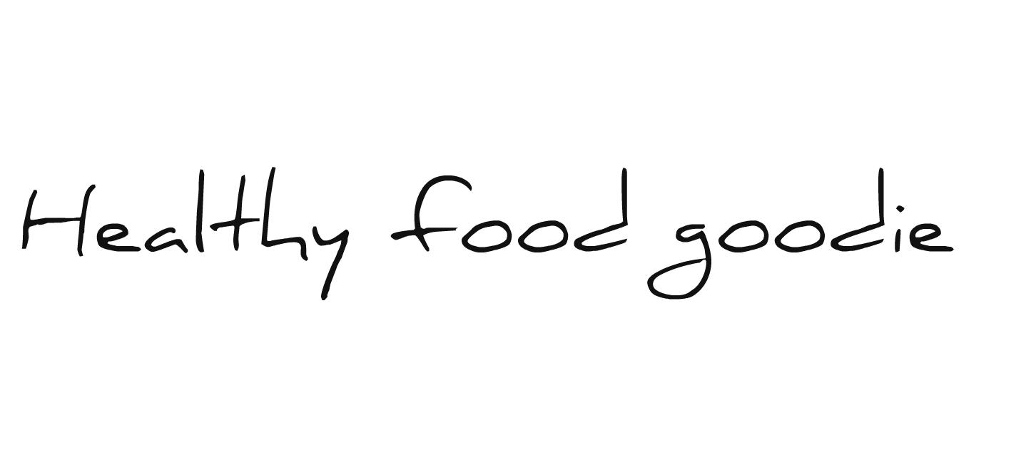 Healthy food goodie