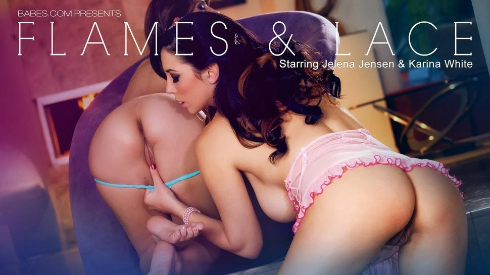 Ilcxdgxbei 2014-01-08 Karina White & Jelena Jensen – Flames & Lace