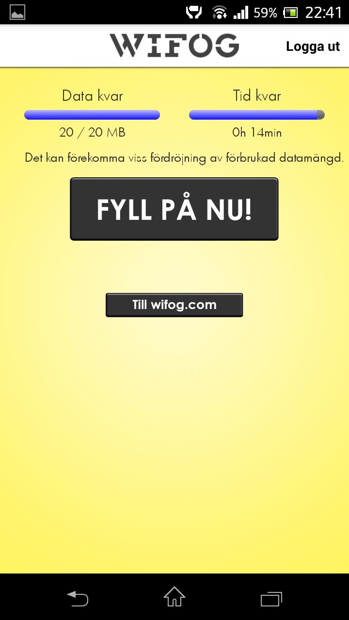 wifog app