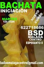 BACHATA  INICIACIÓN LOS MARTES  EN BSD MÁLAGA CENTRO
