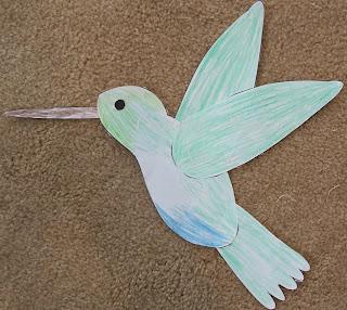 Hummingbird Spinner Craft