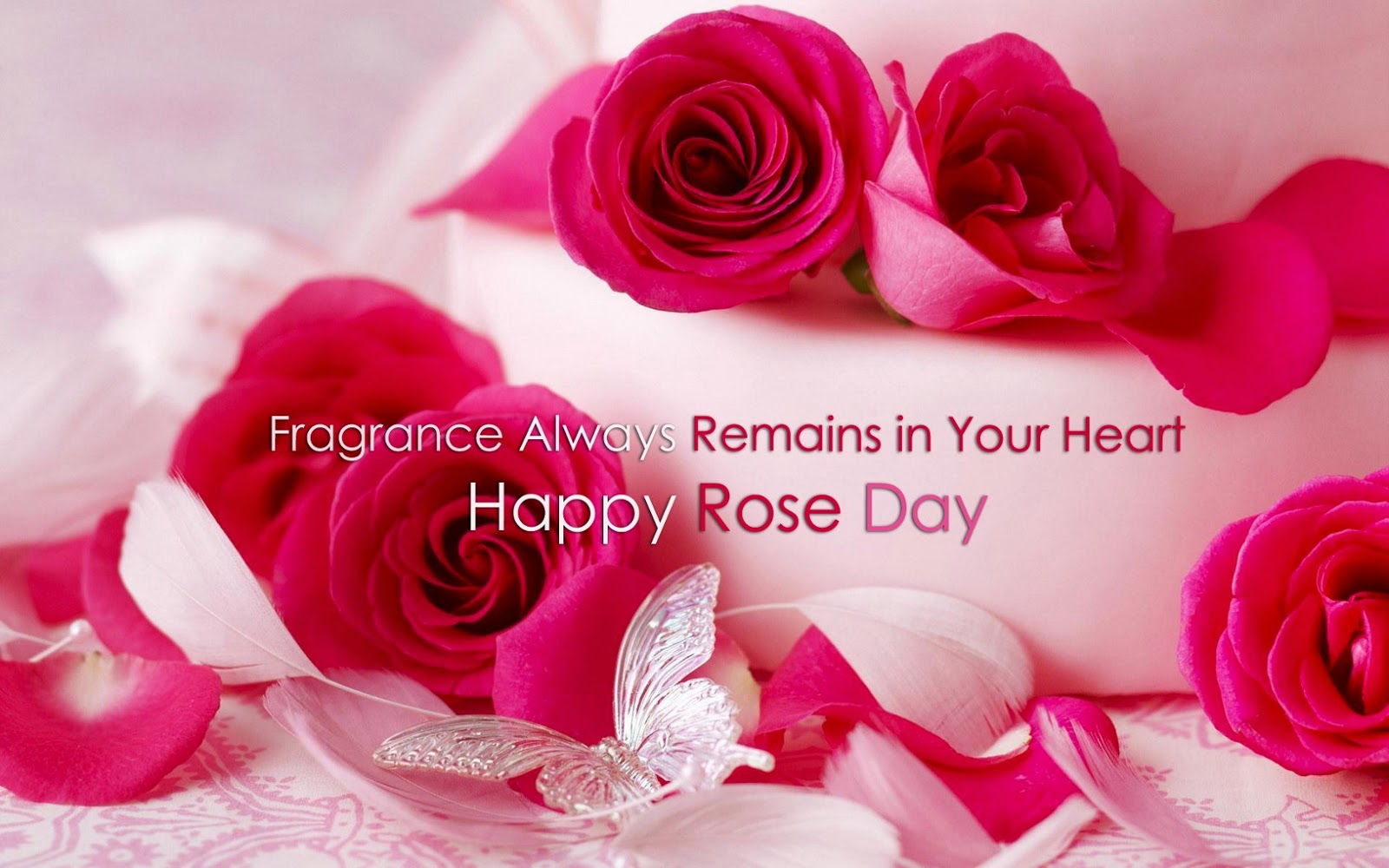Happy rose day 2015 greetings card for facebooktwitter and google happy rose day 2015 greetings card for facebooktwitter and google plus kristyandbryce Images