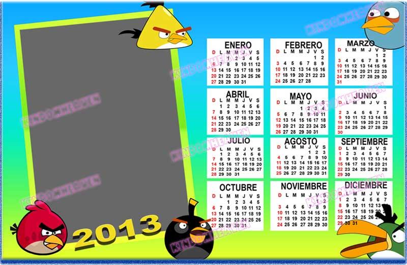 calendarios 2013 psd png para imprimir