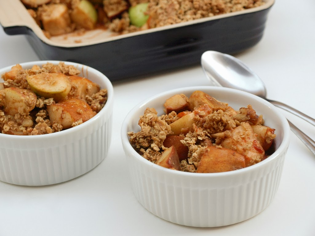 Rustic Apple & Pear Crisp