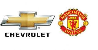 Chevrolet, sponsor de Manchester United