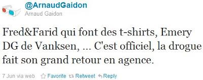 Arnaud Gaidon bash emery doligé