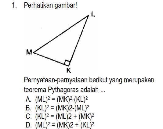 Latihan Pythagoras Matematika