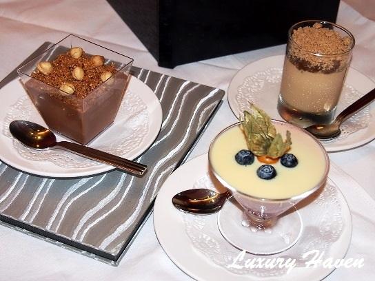 parsley thyme restaurant desserts